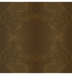 Geometric brown seamless pattern vector