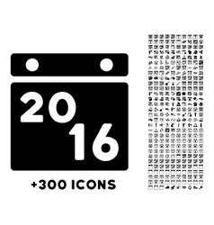 2016 Calendar Icon vector
