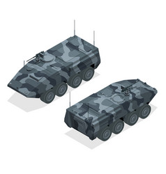 An armoured personnel carrier apc broad type of vector