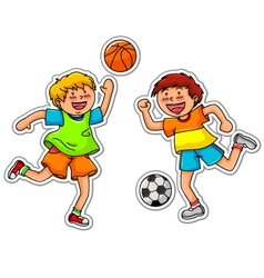 ball games vector image