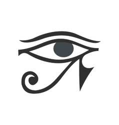 Eye of Horus icon flat style vector