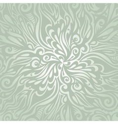 Floral design element vintage style vector