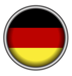 Isolated german badge vector