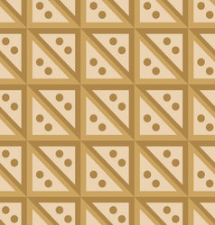 seamless pattern beige squares vector image