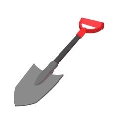 Shovelicon cartoon icon vector image