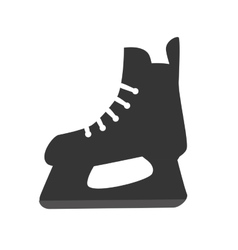 skating skate ice sport vector image