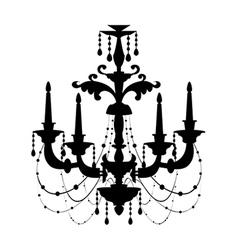 Icon chandelie vector