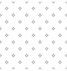 abstract seamless pattern grey stars modern vector image vector image