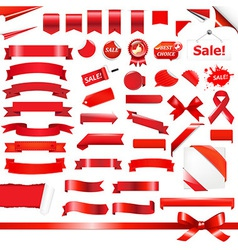 Big Red Set vector