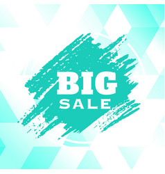 big sale green paint green background image vector image