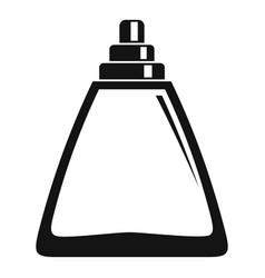 Deodorant bottle icon simple style vector