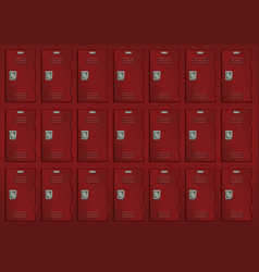 Deposit lockers vector