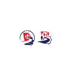 Highway logo icon vector