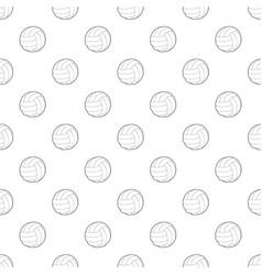 soccer ball pattern seamless vector image