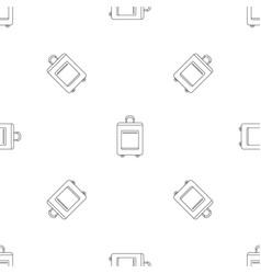 trip bag pattern seamless vector image