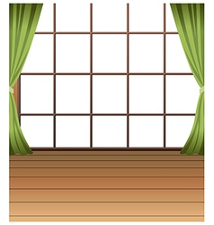 Window Interior Background vector image