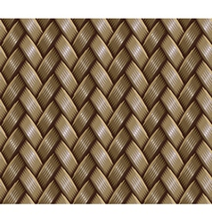 basket weaving vector image vector image