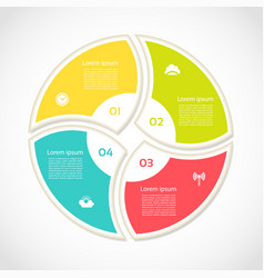 infographic template for business vector image vector image