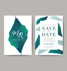 255 - wedding card vector image