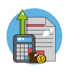 Business profit concept vector