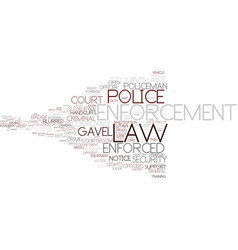 Enforced word cloud concept vector