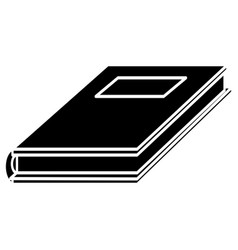 notebook study educational pictogram vector image