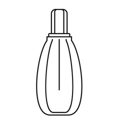 perfume icon outline style vector image