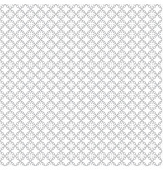 seamless abstract floral pattern white and light vector image