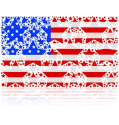 United States stars vector image vector image