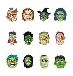 Halloween 1 vector image vector image