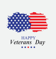 veterans day in america vector image vector image