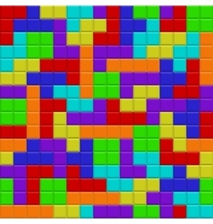 Seamless abstract mosaic background vector image
