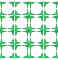 Abstract geometry green seamless pattern vector