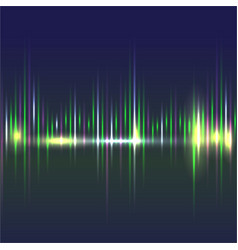 abstract sound waves light equalizercool vector image