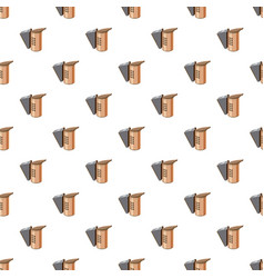 beekeeping smoker pattern vector image
