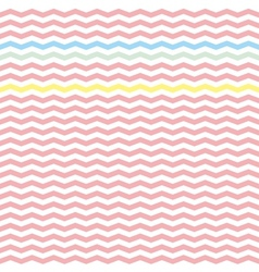 Chevron pink zig zag tile pattern wallpaper vector image