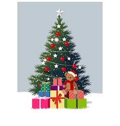 Christmas Tree Presents vector