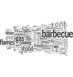 How to have the perfect barbecue vector