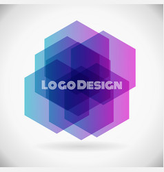 new logo design element vector image