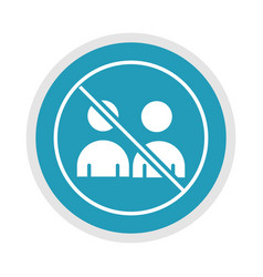 new normal practice social distancing prevention vector image