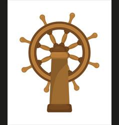 the ship wheel vector image