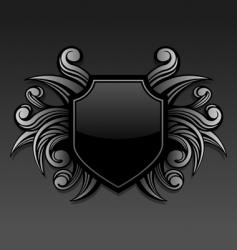gothic emblem vector image