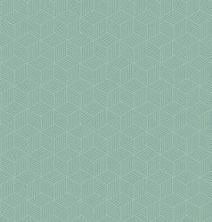abstract geometric hexagon repeating seamless vector image