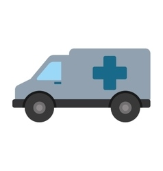 ambulance emergency clinic help transport vector image