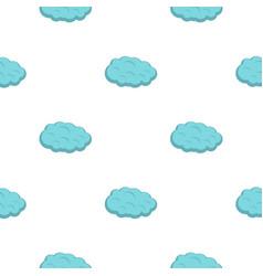 Cloud pattern flat vector