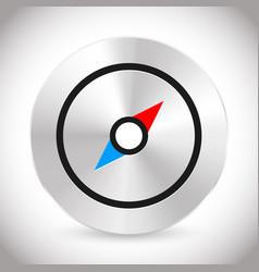 Compass icon compass symbol vector