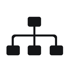 Network Graphs Icon vector