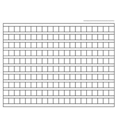 Squared manuscript paper vector
