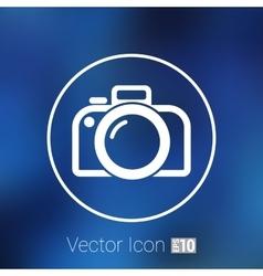 Photo camera icon symbol photography vector