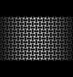 metallic seamless pattern vector image vector image